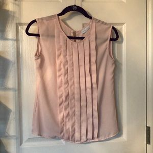 Baby Pink New York & Company Blouse